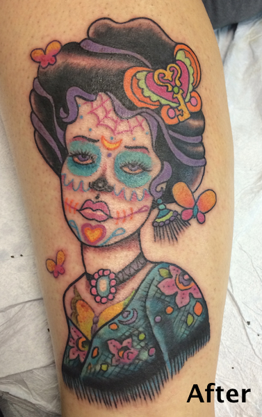 Lady Muerte - this is a cover up - Beth Kennedy